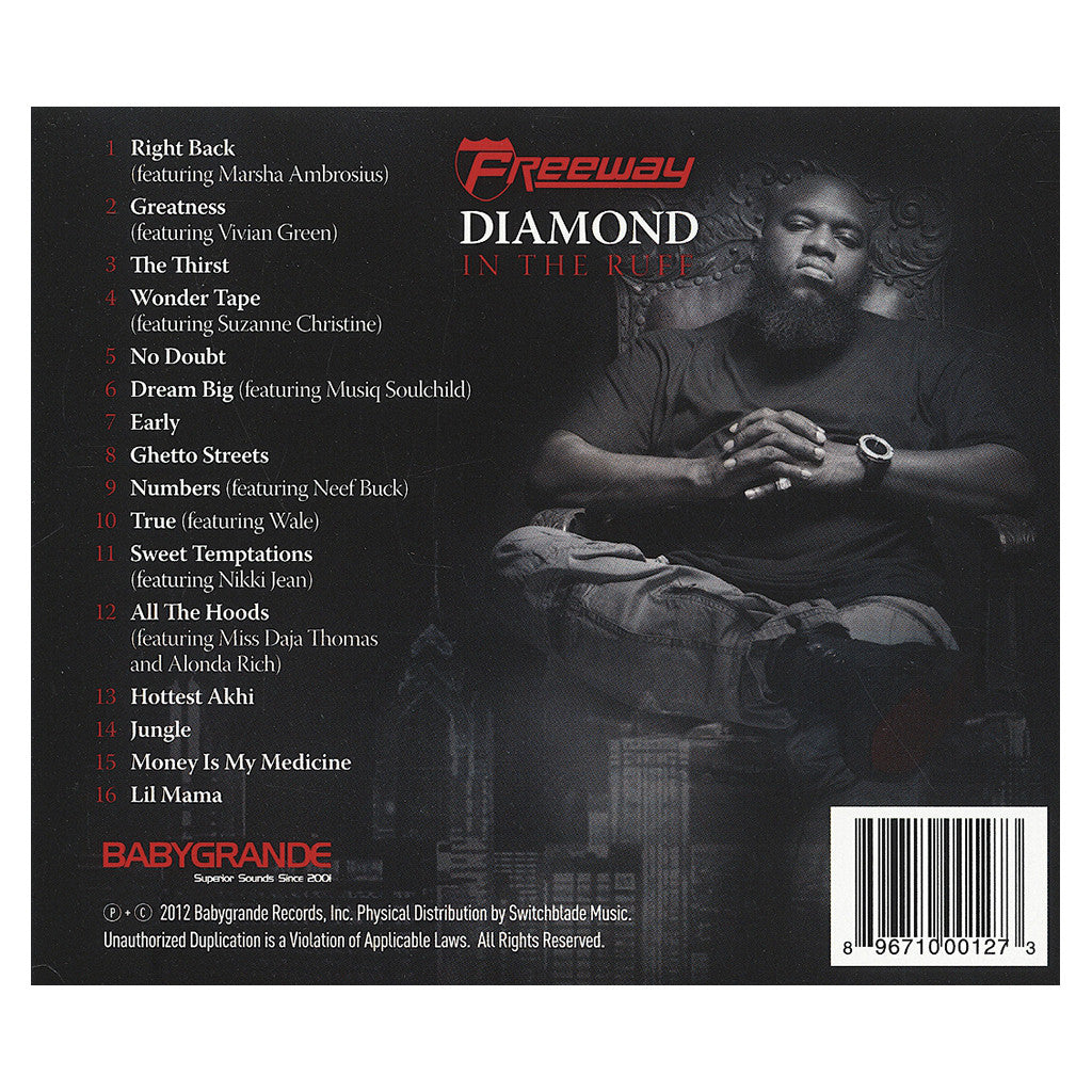 <!--120121127050096-->Freeway - 'Diamond In The Ruff' [CD]