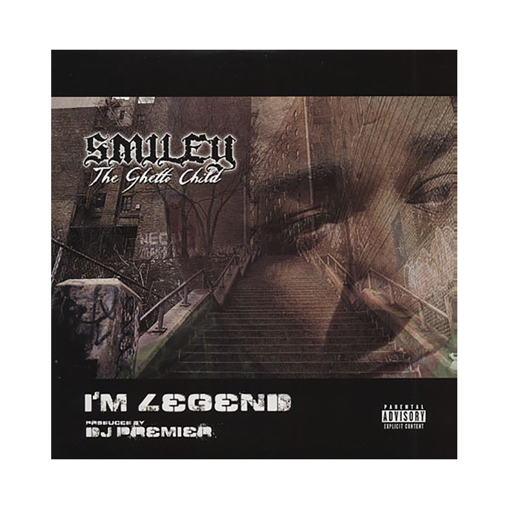 "Smiley The Ghetto Child - 'I'm Legend/ Rap Car/ Pass The Death Age' [(Black) 12"" Vinyl Single]"