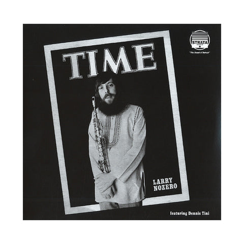 "[""Larry Nozero w/ Dennis Tini - 'Time' [(Black) Vinyl [2LP]]""]"