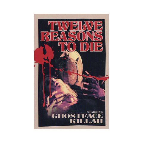 Ghostface Killah & Apollo Brown - 'Twelve Reasons To Die: The Brown Tape' [(White) Cassette Tape]
