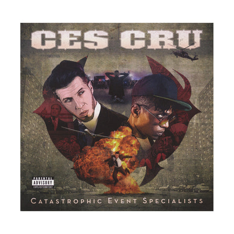 Ces Cru - 'Catastrophic Event Specialists' [CD]