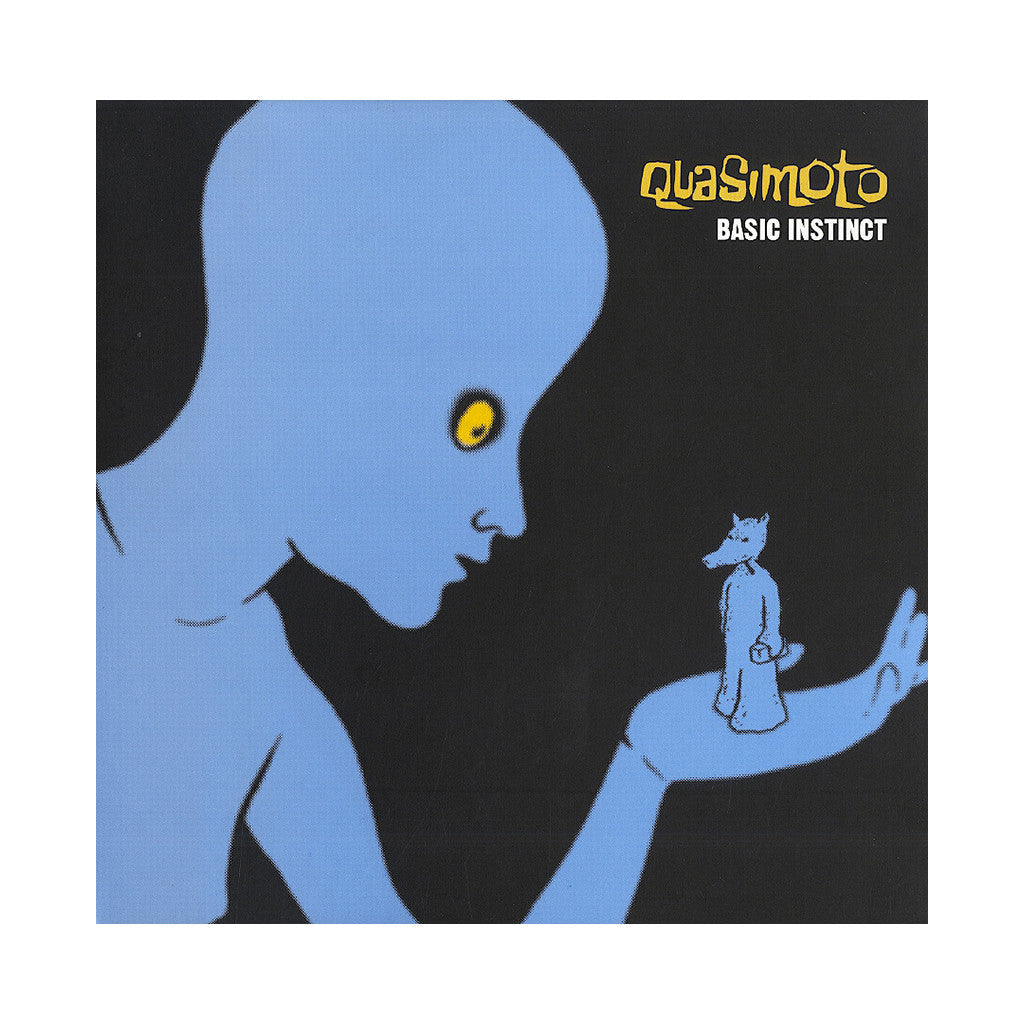 "<!--120010320011686-->Quasimoto - 'Basic Instinct/ B.S./ Dinosaur Brain Beat' [(Black) 12"""" Vinyl Single]"