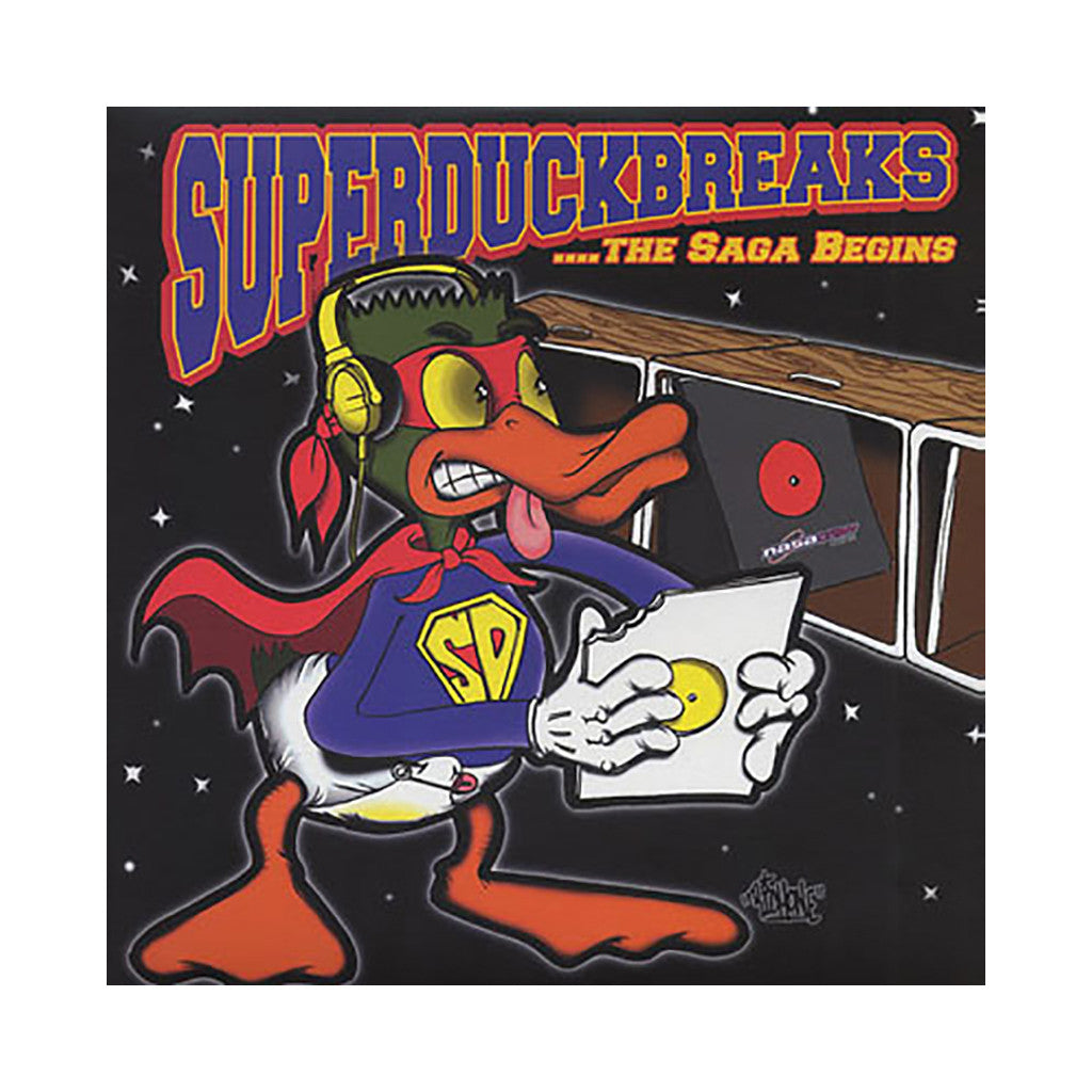 Tablist - 'Super Duck Breaks + Super Duper Duck Breaks: The Complete Saga' [CD]