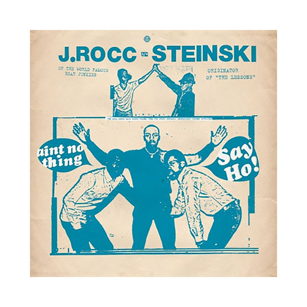 "<!--020040608002958-->J. Rocc b/w Steinski - 'Say Ho! b/w Ain't No Thing' [(Black) 12"""" Vinyl Single]"