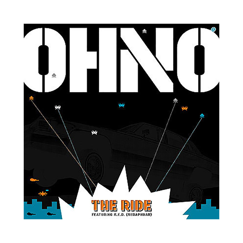 "<!--020040907001882-->Oh No - 'The Ride/ Stomp That V. 1.2' [(Black) 12"" Vinyl Single]"