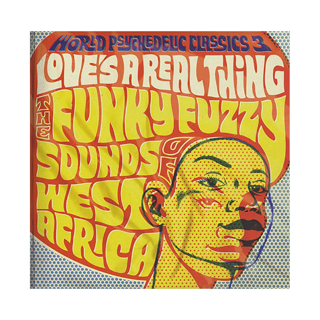 Various Artists - 'Love's A Real Thing: The Funky Fuzzy Sounds Of West Africa' [(Black) Vinyl [2LP]]