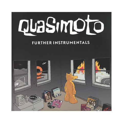 "[""Quasimoto - 'The Further Adventures Of Lord Quas (Instrumentals)' [(Black) Vinyl [2LP]]""]"