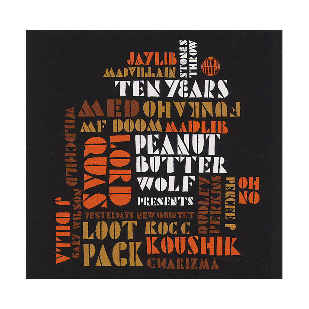 Various Artists (Peanut Butter Wolf Presents) - 'Stones Throw Ten Years' [CD [2CD]]