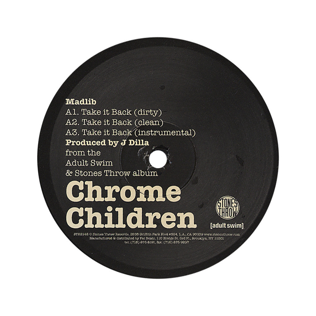 "<!--020060926008165-->Madlib b/w Guilty Simpson - 'Take It Back b/w Clap Your Hands' [(Black) 12"""" Vinyl Single]"