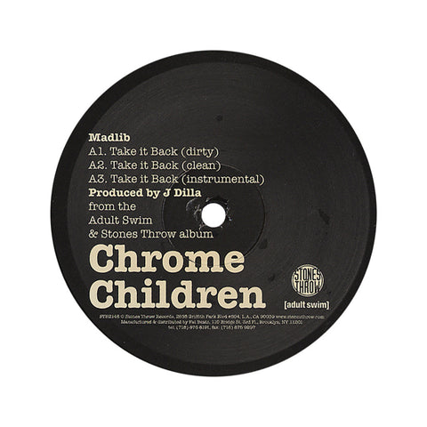 "[""Madlib b/w Guilty Simpson - 'Take It Back b/w Clap Your Hands' [(Black) 12\"" Vinyl Single]""]"