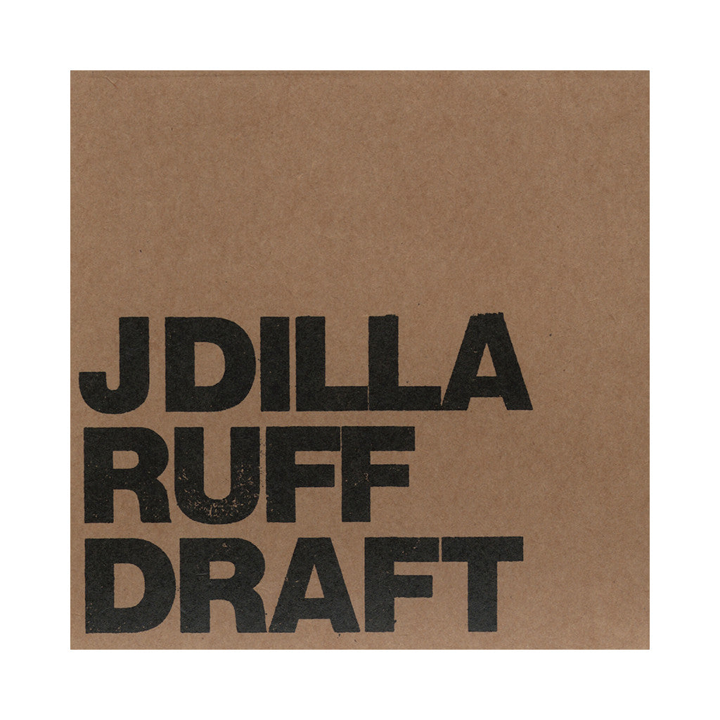 J Dilla - 'Ruff Draft' [(Black) Vinyl [2LP]]