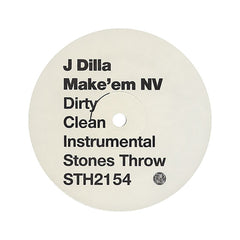 "J Dilla - 'Wild/ Make'em NV' [(Black) 12"" Vinyl Single]"