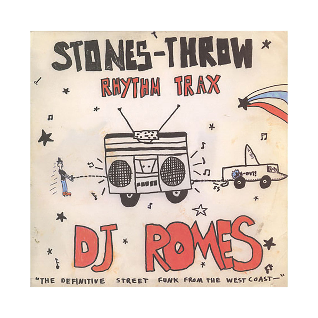 <!--2008032540-->DJ Romes - 'Rhythm Trax Vol. 2' [(Black) Vinyl LP]