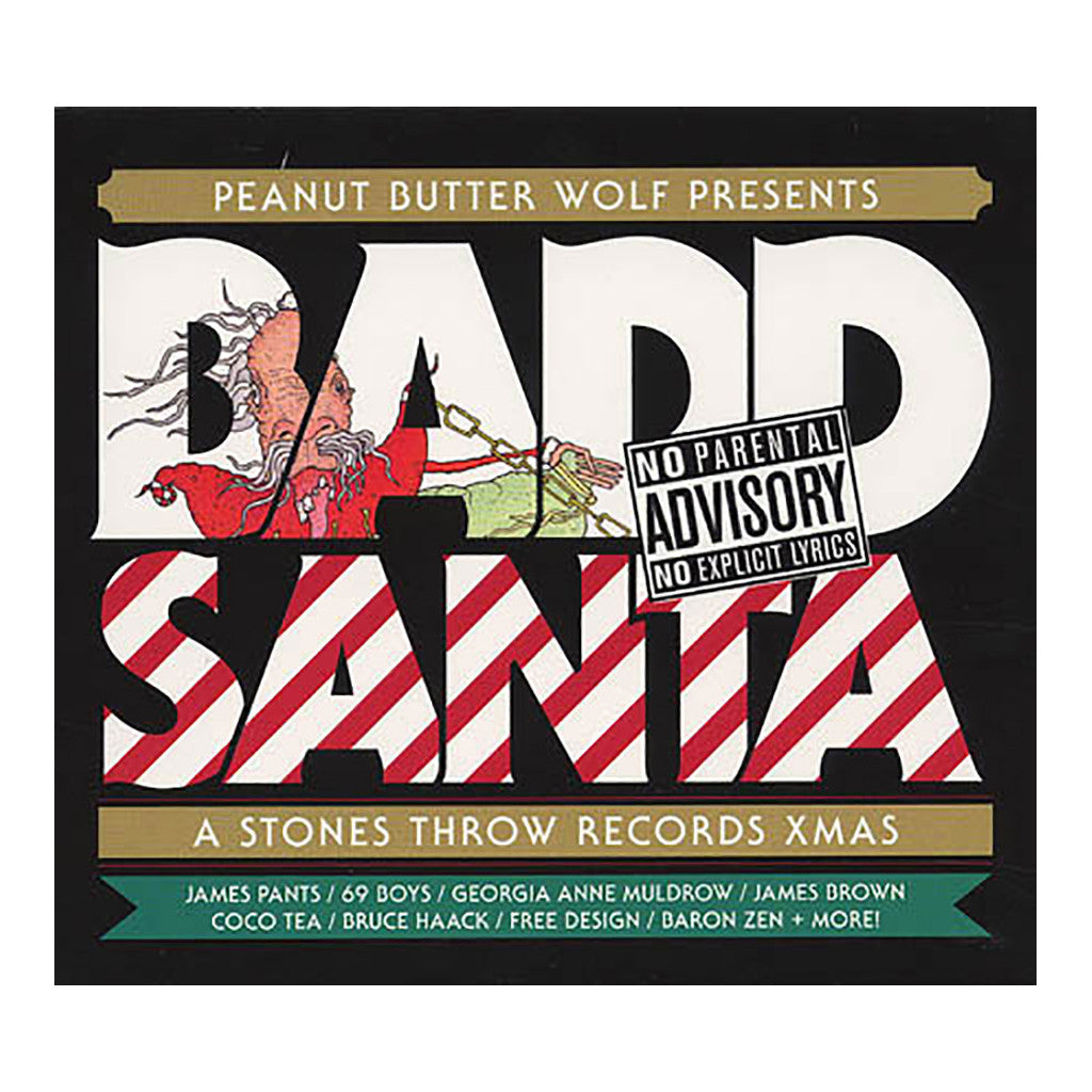 <!--020071127011244-->Peanut Butter Wolf Presents - 'Badd Santa: A Stones Throw Records X-mas' [(Black) Vinyl [2LP]]
