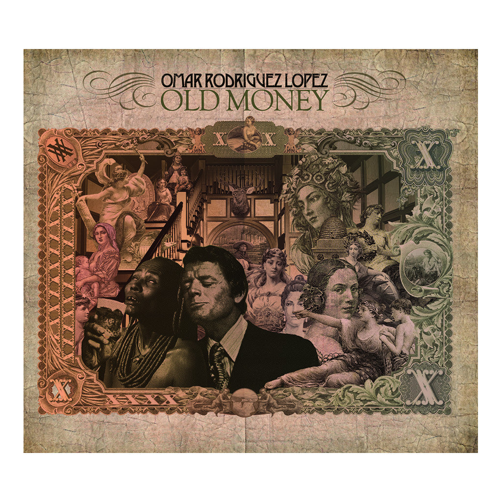 <!--120090120015455-->Omar Rodriguez Lopez - 'Old Money' [CD]