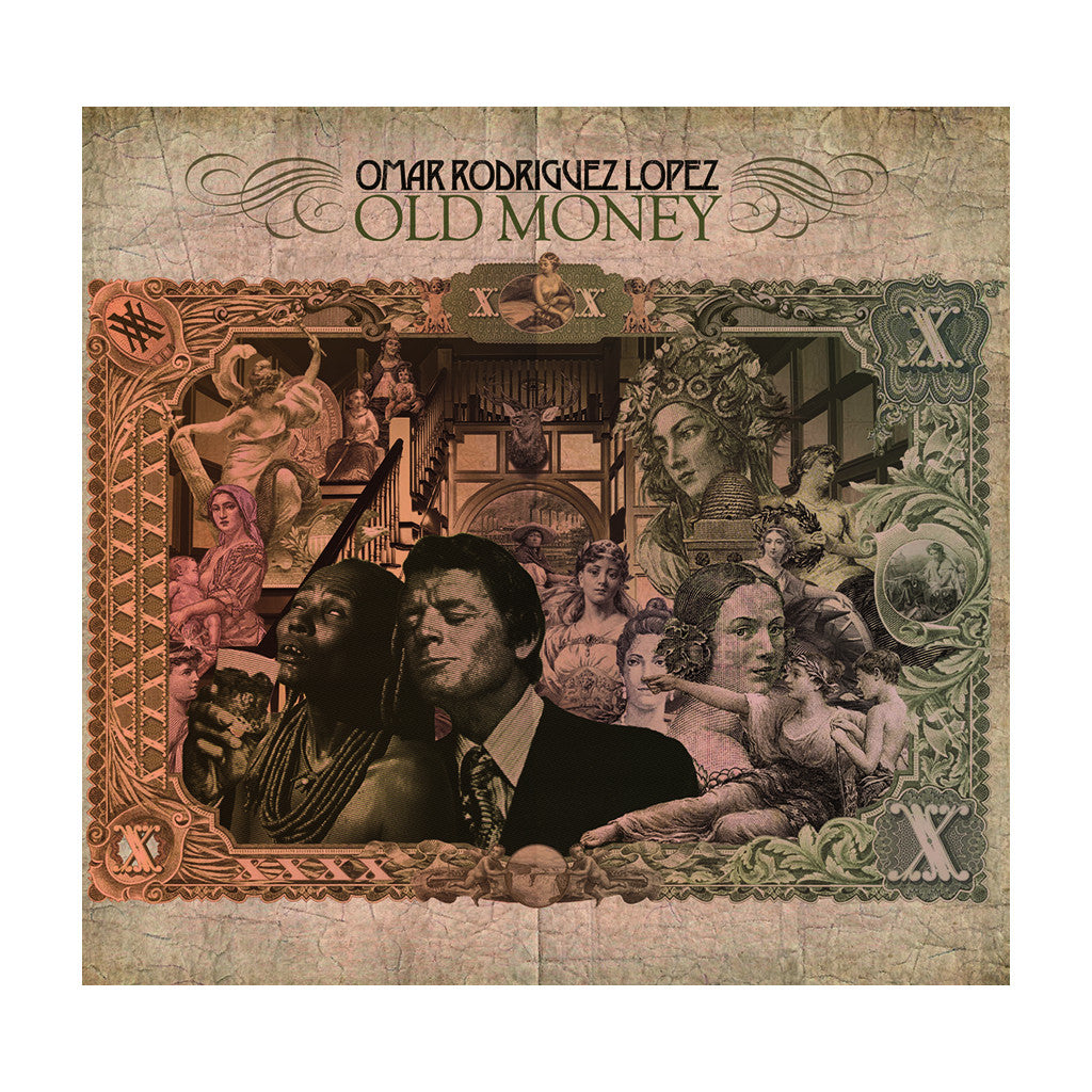 <!--020090210015454-->Omar Rodriguez Lopez - 'Old Money' [(Black) Vinyl LP]