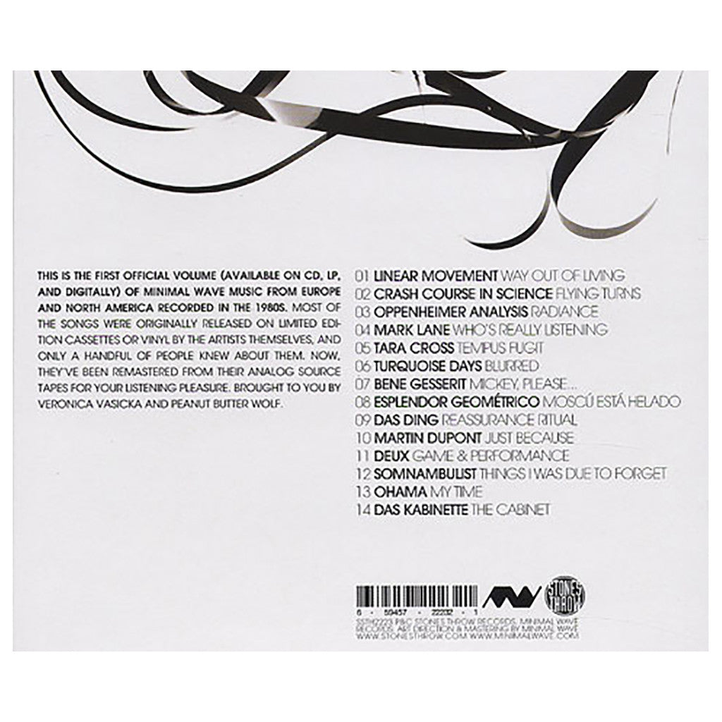 Various Artists - 'The Minimal Wave Tapes Vol. 1' [CD]