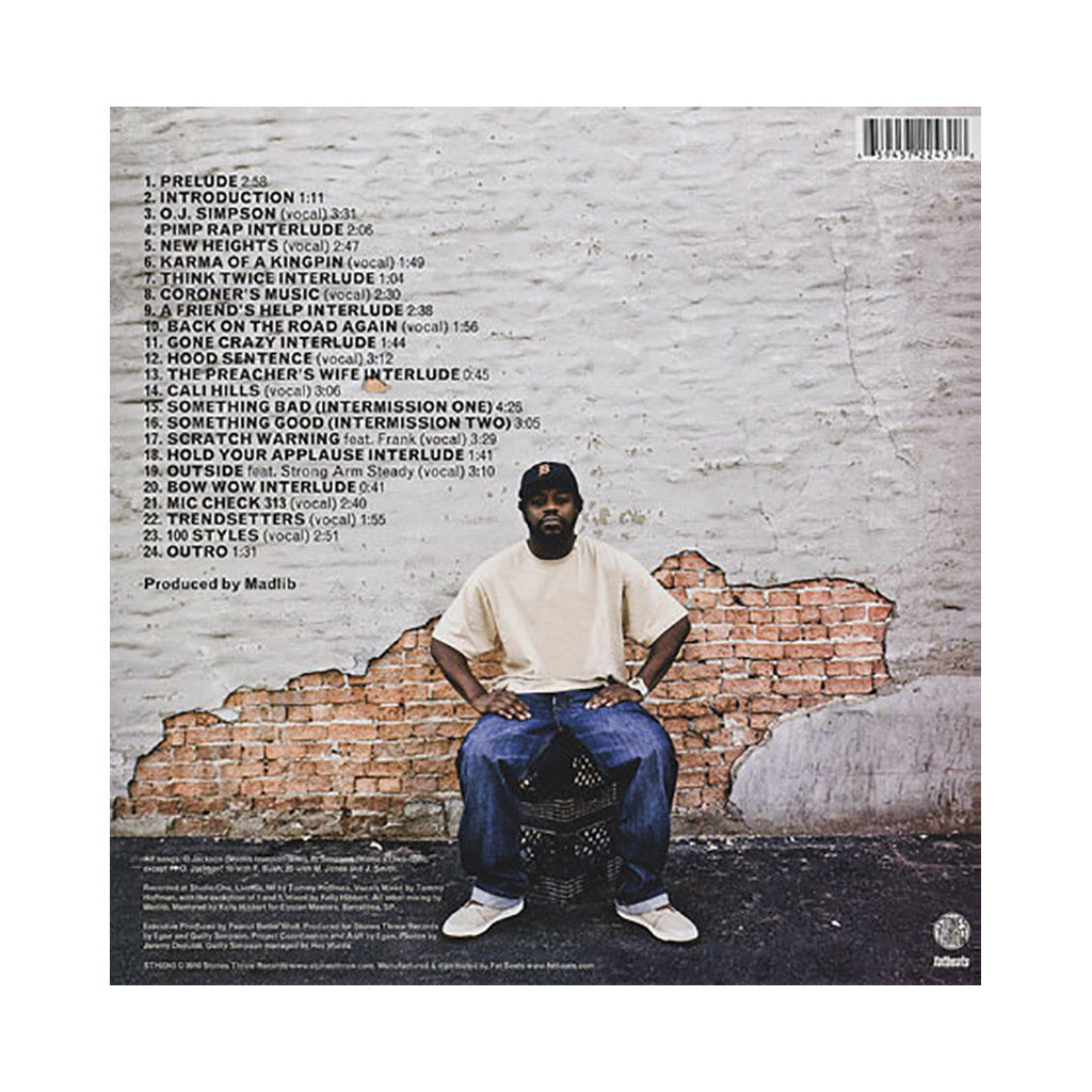 <!--120100518020365-->Guilty Simpson & Madlib - 'OJ Simpson' [(Black) Vinyl [2LP]]