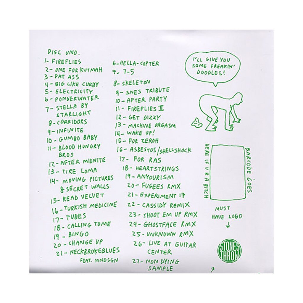 <!--2012032037-->Jonwayne - 'Oodles Of Doodles' [CD [2CD]]