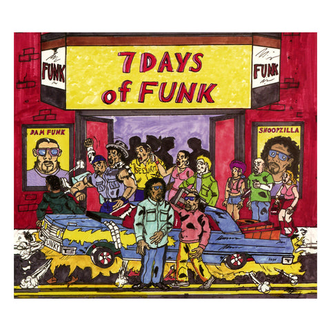 "[""7 Days Of Funk - '7 Days Of Funk' [CD]""]"