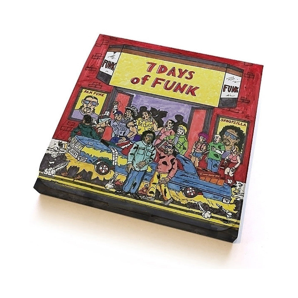 "<!--120140211062098-->7 Days Of Funk - '7 Days Of Funk: 45 Box Set' [(Black) 7"" Vinyl Single [8x7""]]"