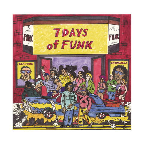 "[""7 Days Of Funk - '7 Days Of Funk: 45 Box Set' [(Black) 7\"" Vinyl Single [8x7\""]]""]"