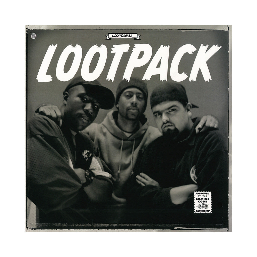 "<!--120140225062355-->Lootpack - 'Loopdigga/ Lost Art/ Weededed (Remix) (Loopdigga EP)' [(Black) 12"" Vinyl Single]"