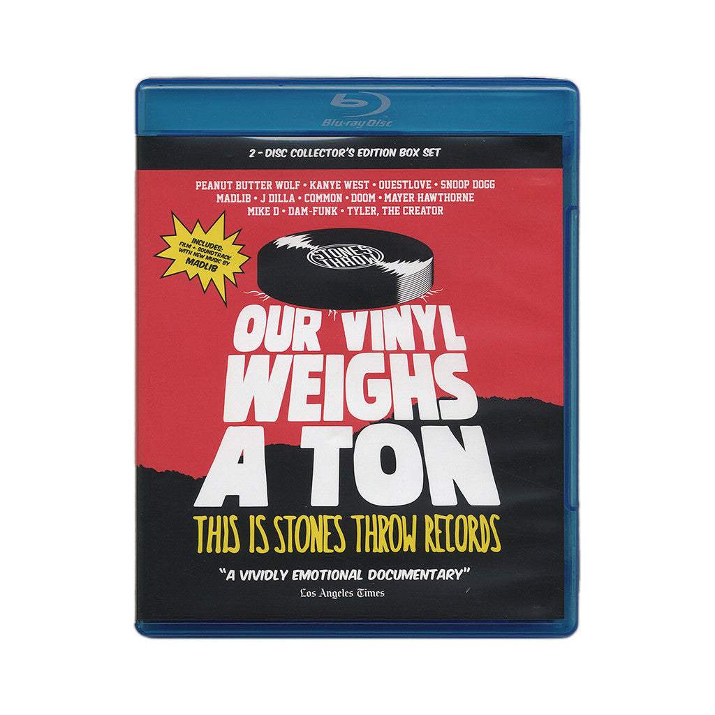 <!--120140527063294-->Stones Throw Records - 'Our Vinyl Weighs A Ton: This Is Stones Throw Records' [Blu-ray]