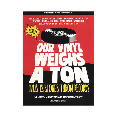 "[""Stones Throw Records - 'Our Vinyl Weighs A Ton: This Is Stones Throw Records' [DVD]""]"