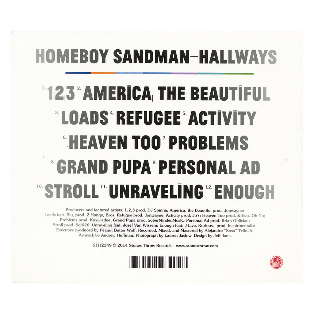 <!--2014090231-->Homeboy Sandman - 'Hallways' [CD]