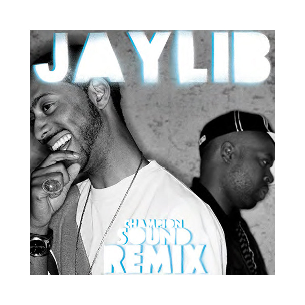 Jaylib - 'Champion Sound: The Remix' [(Black) Vinyl LP]