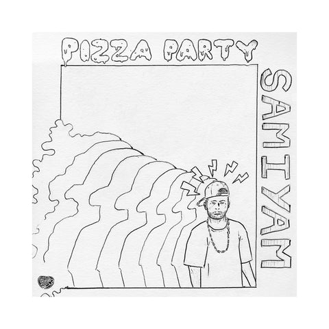 "[""Samiyam - 'Pizza Party' [(Black) Vinyl LP]""]"