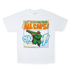 <!--2009100656-->Madvillain - 'All Caps!' [(White) T-Shirt]