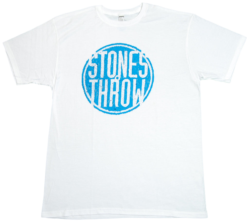 <!--2012082810-->Stones Throw Records - 'Summer 2012 Logo' [(White) T-Shirt]