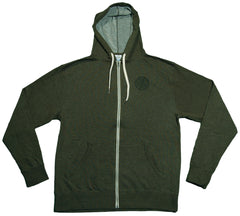 <!--2012103043-->Stones Throw Records - 'Hood Lite' [(Dark Green) Hooded Sweatshirt]
