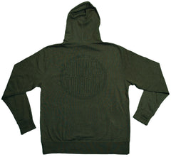 Stones Throw Records - 'Hood Lite' [(Dark Green) Hooded Sweatshirt]