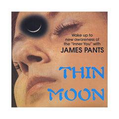 "<!--2009100629-->James Pants - 'Thin Moon/ A Chip In The Hand' [(Black) 7"" Vinyl Single]"