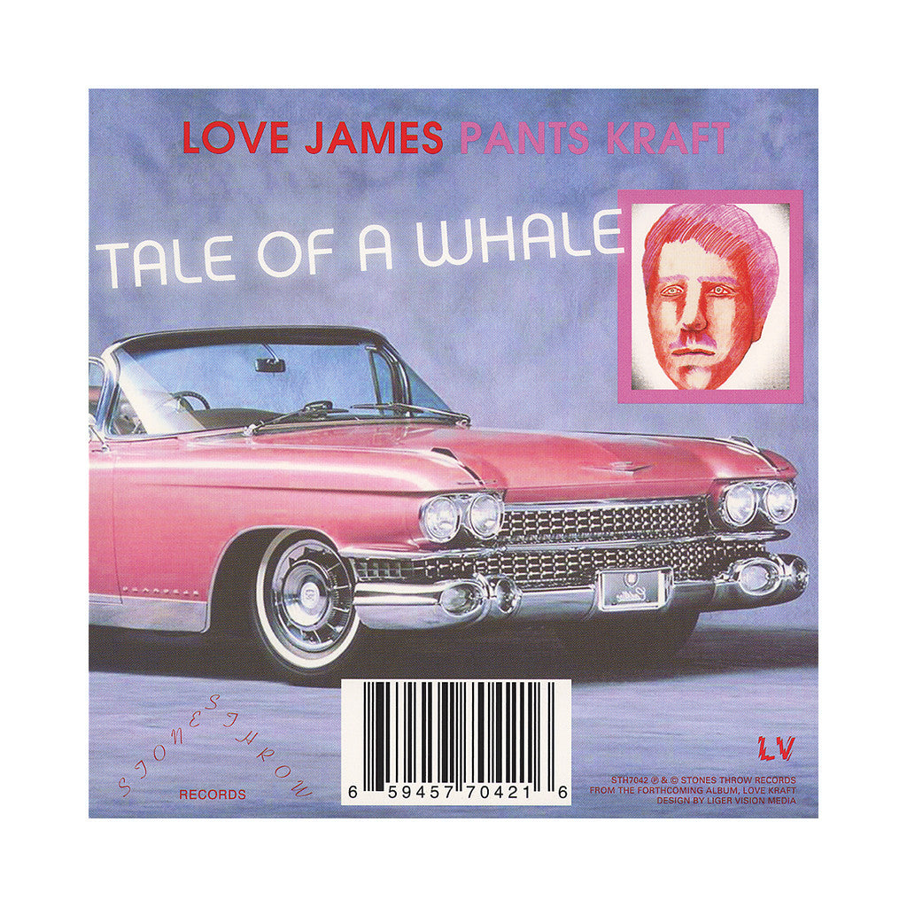 "James Pants - 'Every Night I Dream/ Tale Of A Whale' [(Black) 7"" Vinyl Single]"
