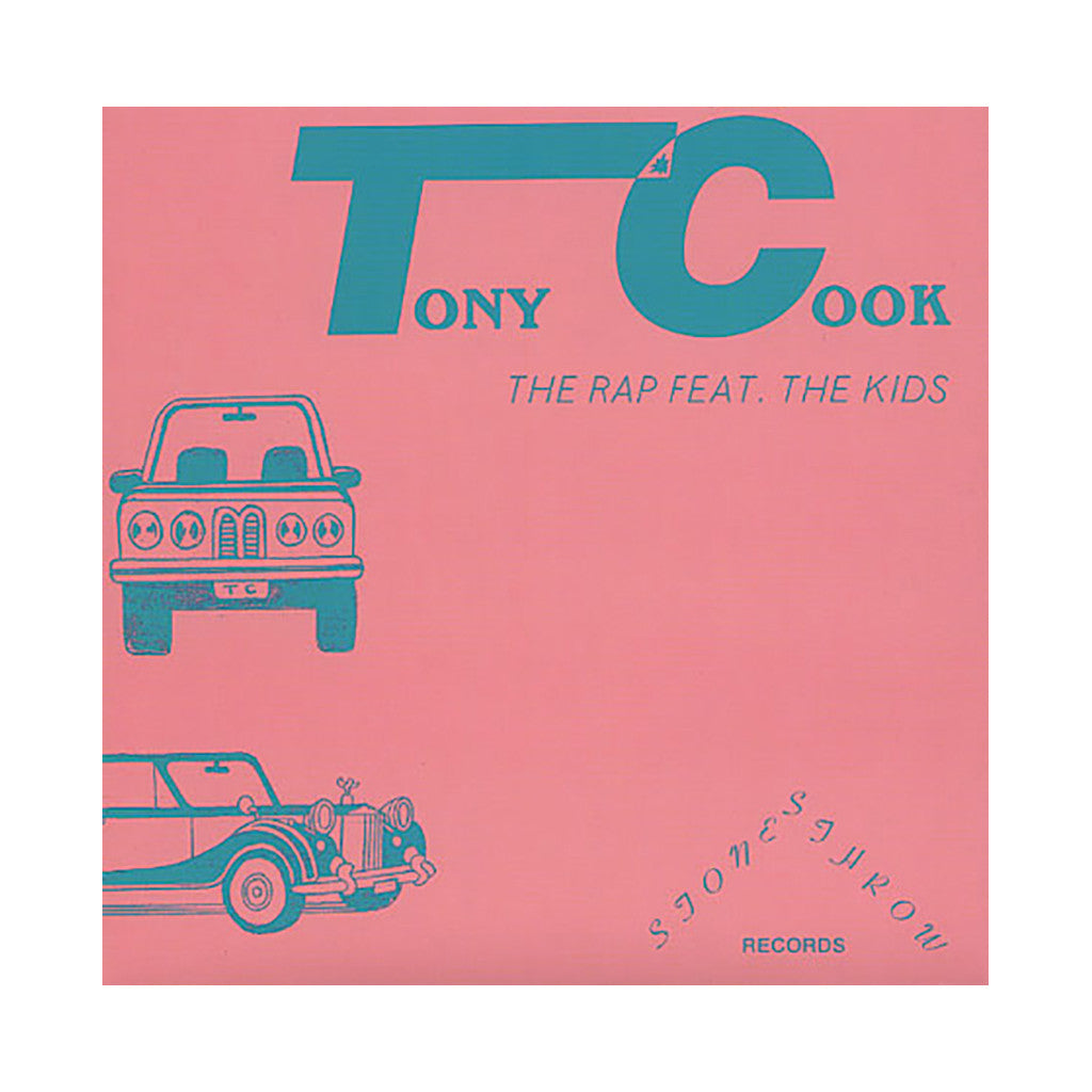 "<!--2011032244-->Tony Cook - 'The Rap/ What's On Your Mind?' [(Black) 7"" Vinyl Single]"