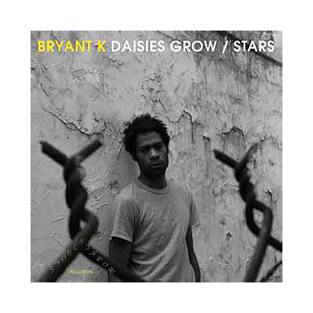 "<!--120101228025447-->Bryant K - 'Daisies Grow/ Stars' [(Black) 7"" Vinyl Single]"