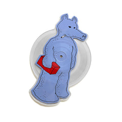 "<!--120140624064290-->Quasimoto - 'Talkin' Shit/ Planned Attack (Mood 2: Grimace Edition)' [(Clear Picture Disc) 7"""" Vinyl Single]"
