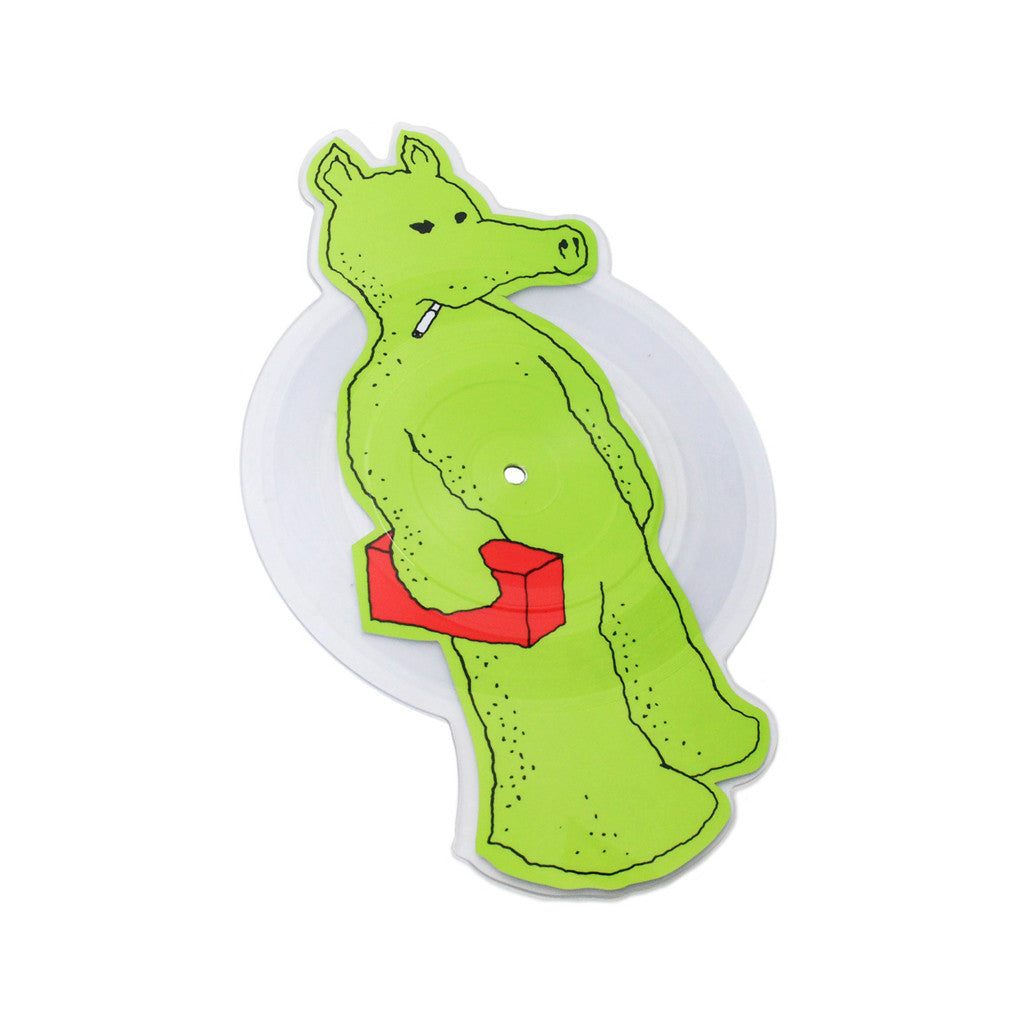 "Quasimoto - 'Talkin' Shit/ Planned Attack (X-Ray Green Edition)' [(Clear Picture Disc) 7"" Vinyl Single]"