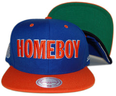 <!--020120918049169-->Homeboy Sandman - 'Homeboy Sandman (MITCHELL & NESS)' [(Blue) Snap Back Hat]