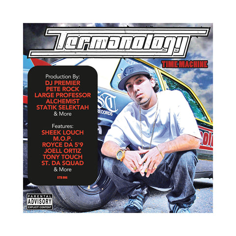 Termanology - 'Time Machine (Hood Politics Vol. 6)' [CD]