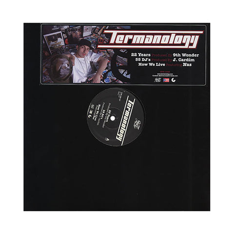 "Termanology - '22 Years/ 55 DJ's/ How We Live' [(Black) 12"" Vinyl Single]"