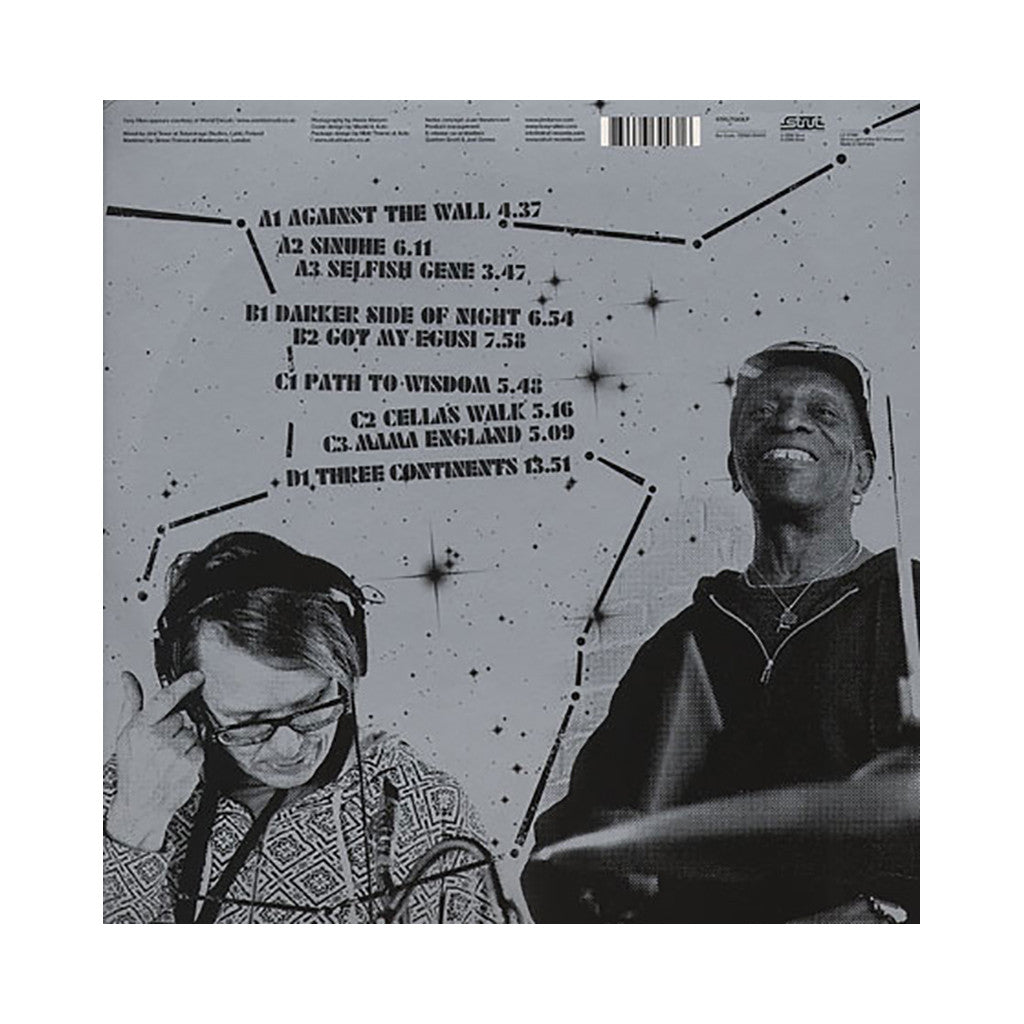 Jimi Tenor & Tony Allen - 'Inspiration Information Vol. 4' [(Black) Vinyl [2LP]]