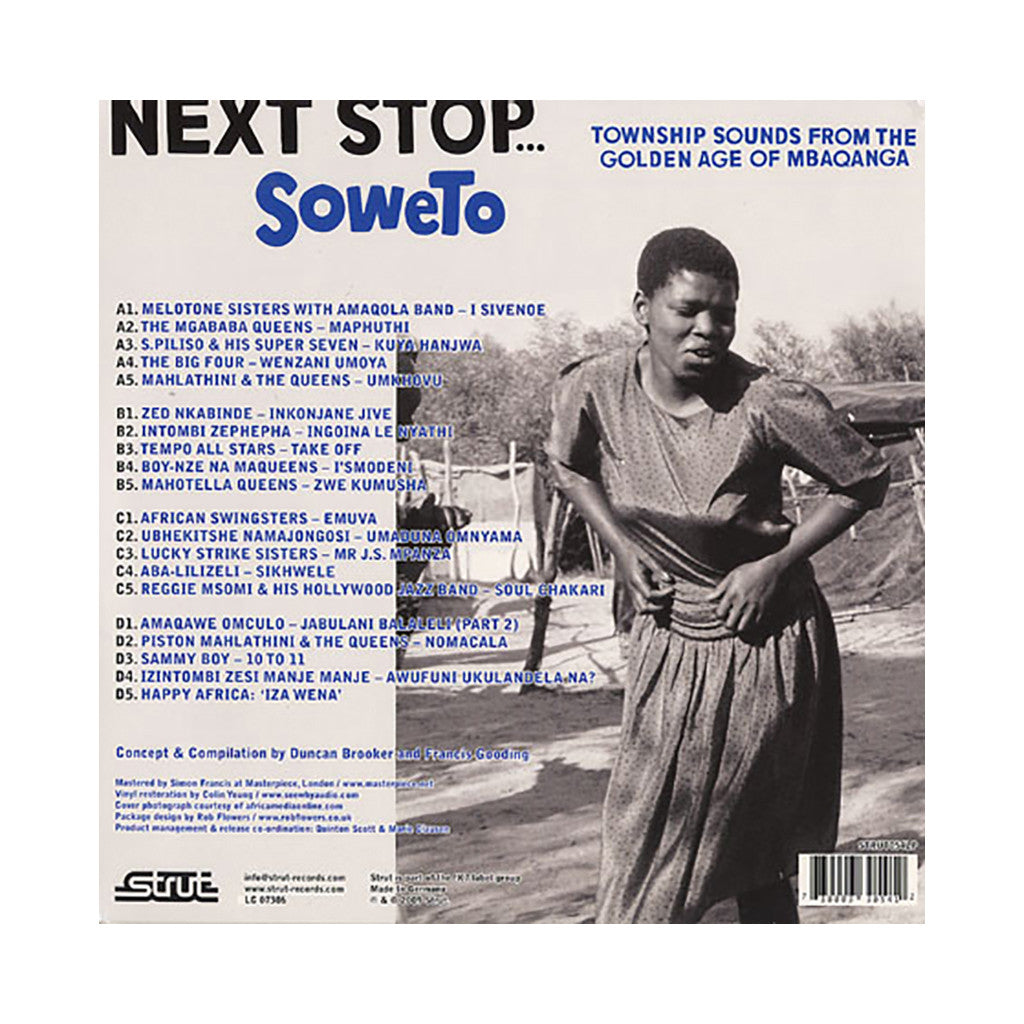 Various Artists - 'Next Stop... Soweto: Township Sounds From The Golden Age Of Mbaqanga' [(Black) Vinyl [2LP]]