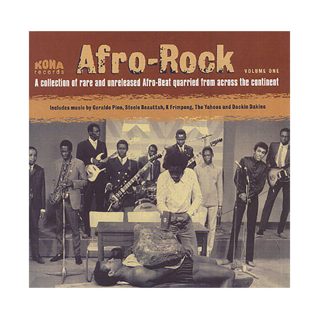 Various Artists - 'Afro-Rock Vol. 1' [CD]