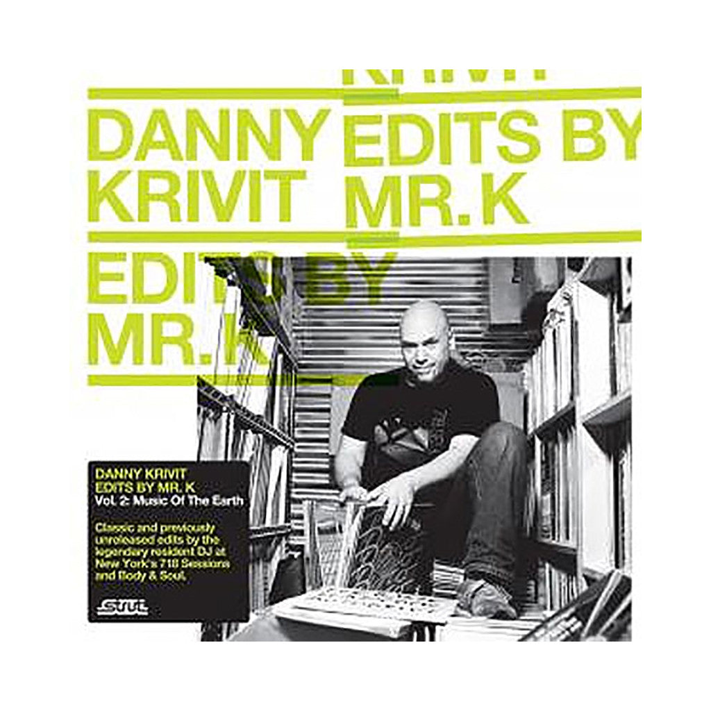 Danny Krivit - 'Edits By Mr. K Vol. 2: Music Of The Earth' [CD]