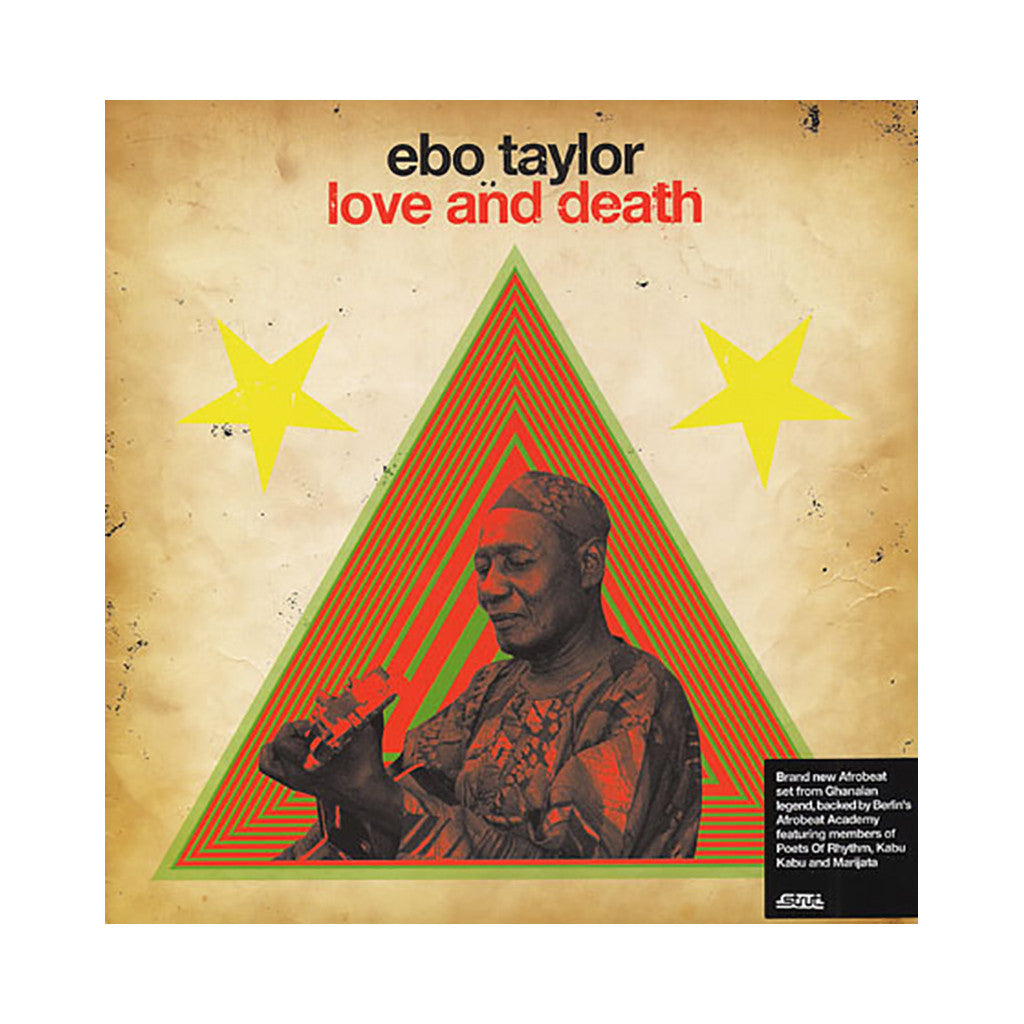 Ebo Taylor - 'Love And Death' [(Black) Vinyl [2LP]]